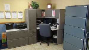 AFTER - Great feeling to walk into your office and find it inviting.  Energizes you!