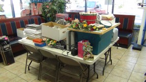 DURING - These items were all removed from the office and can now be sold in the Habitat for Humanity ReStore.