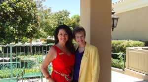 Thalia and Selina -- a beautiful day in Temecula.