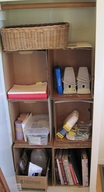 Desperately-Organized-Hall-Cheap-way-to-convert-Hall-Closet-Time-Planners-Professional-Organizer