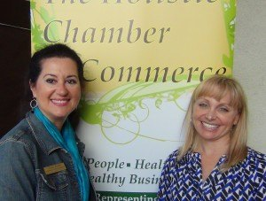 Dr. Hope Umansky of the California Institute for Human Science was a speaker at San Diego North County Holistic Chamber of Commerce