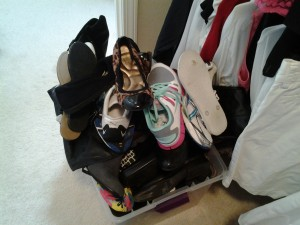 Clearing your closets of unworn items helps you and those to whom you donate. It can change their lives -- and yours!