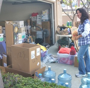 Clearing out your garage and closets helps your clarity and your community.