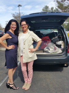 "Phyllis Reed collaborates your clothing donations to the ""Secret Closet"" at Assistance League."